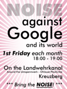 Noise against Google campus generic pink.png